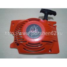 Стартер ручной для бензопилы КИТАЙ 45-52, 2 зацепа на шкив легкий старт